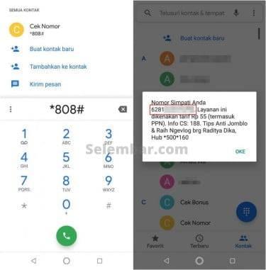 4 Cara Cek Nomor Telkomsel Milik Sendiri Terlengkap ...