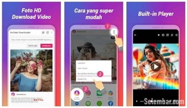 8 Aplikasi Download Video dan Foto Instagram