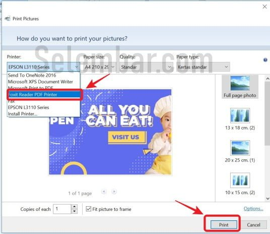 Cara Mengubah Gambar Ke Pdf Offline Dan Online Selembar Com