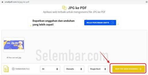 Mengupload file gambar