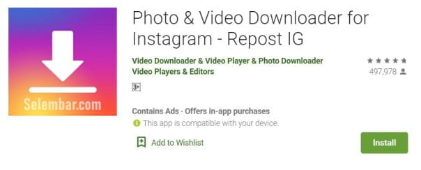 photo and video downloader for ig repost