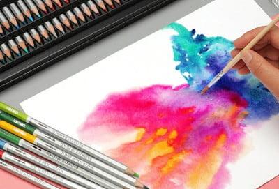 Pensil Warna Cat Air