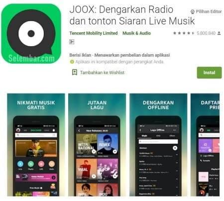 JOOX : Dengarkan radio dan tonton siaran live musik