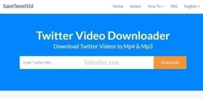 Cara Download Video di Twitter via Save Tweet id
