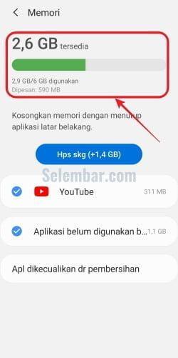 Cara Cek Ram Hp Samsung Melihat Total Dan Sisa Ram Selembar Com