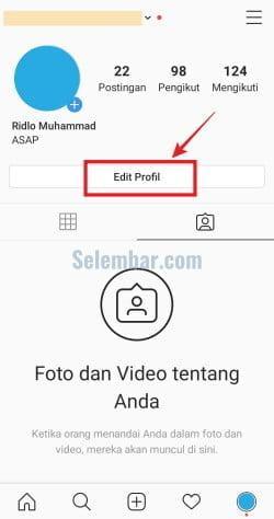 Cara Mengganti Email Instagram di Aplikasi
