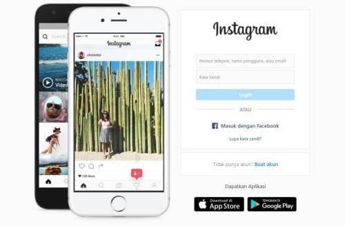 Mengganti Email Instagram Melalui Website