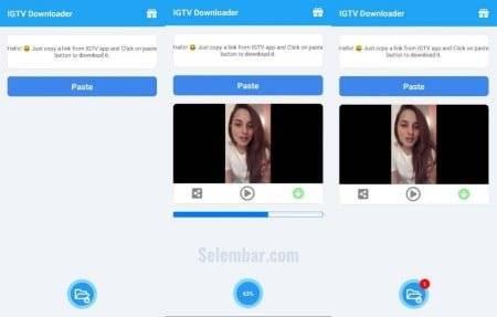 Mengunduh Video di IGTV Dengan Menggunakan Aplikasi