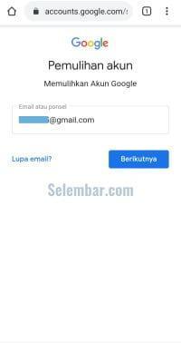 Masuk ke akun gmail seperti biasa