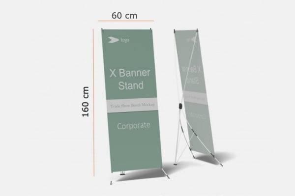 X Banner Standar